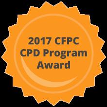 cfpc cpd program award 2017